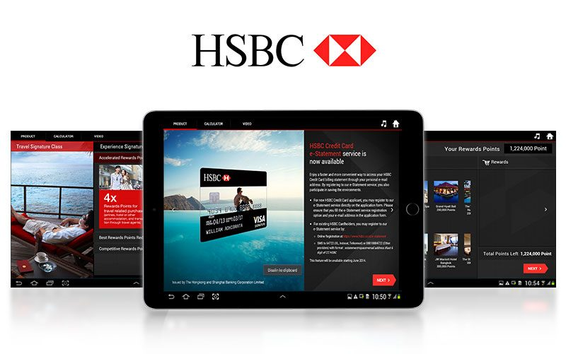 HSBC Visa Sales Toolkit App